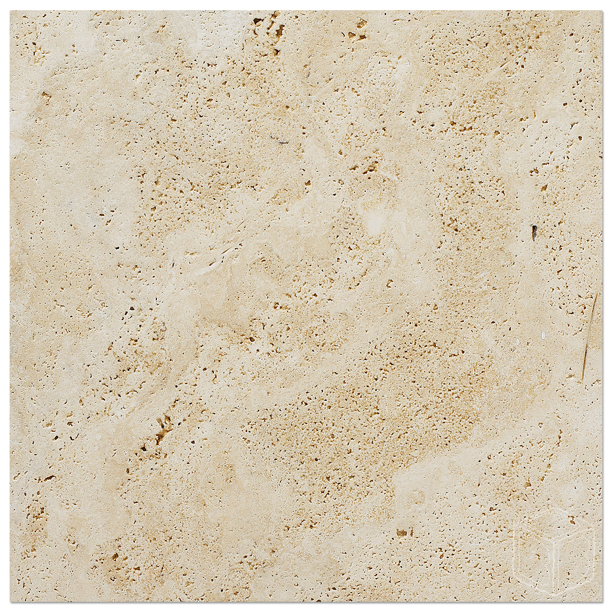 18x18 Tile In Small Bathroom: White Travertine Brushed 18×18