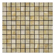Honey Onyx Mosaic Polished 1
